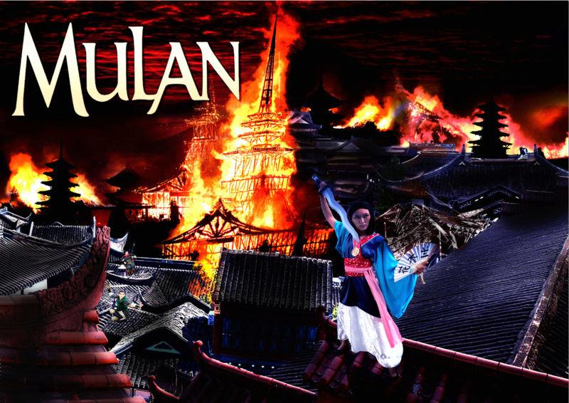Concours de production artistique : Saison 14 : intersaison : thème libre.  - Page 13 Mulan_10
