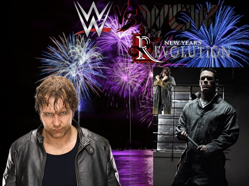 WWE vs WCW: New Year's Revolution (Times Union Center à Albany, New York) Ambros10