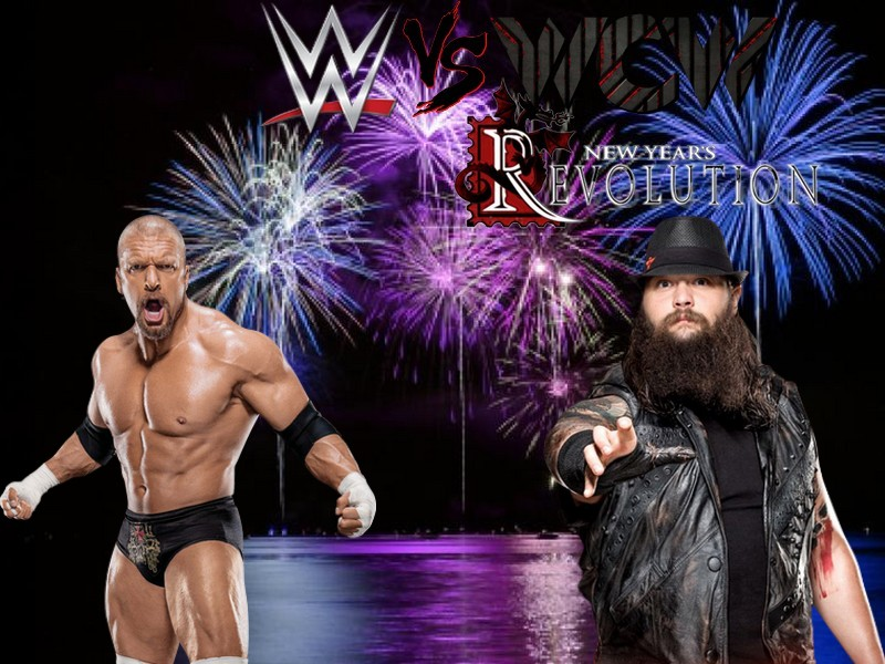 WWE vs WCW: New Year's Revolution (Times Union Center à Albany, New York) Hhh_vs10
