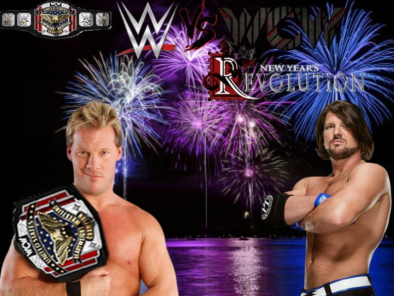WWE vs WCW: New Year's Revolution (Times Union Center à Albany, New York) Jerich11