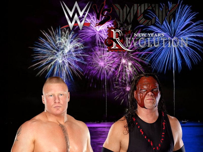 WWE vs WCW: New Year's Revolution (Times Union Center à Albany, New York) Lesnar10