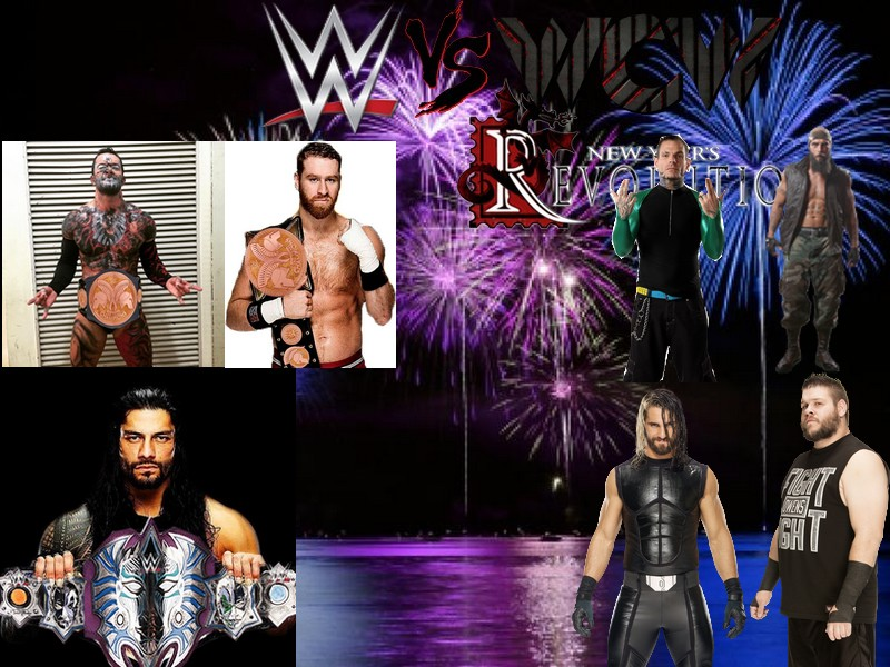 WWE vs WCW: New Year's Revolution (Times Union Center à Albany, New York) Reigns10