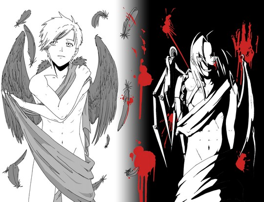 Hit or Miss? Version manga - animé - Page 4 Dessin10