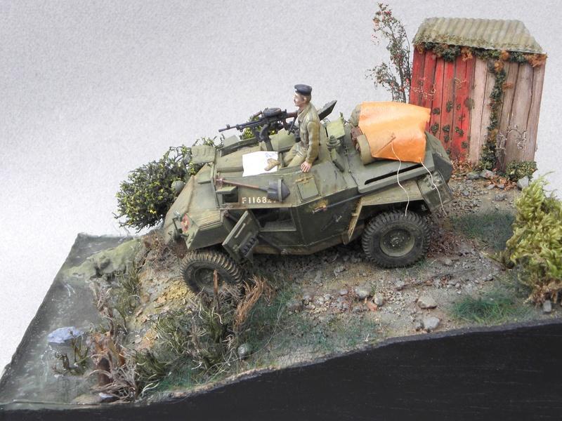 Cabane au bord de l'eau - Humber Scout Car MK.I ref 35009 Bronco Models 1/35 - Page 2 Essai610