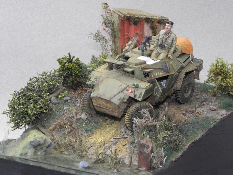 Cabane au bord de l'eau - Humber Scout Car MK.I ref 35009 Bronco Models 1/35 - Page 2 Essai_10