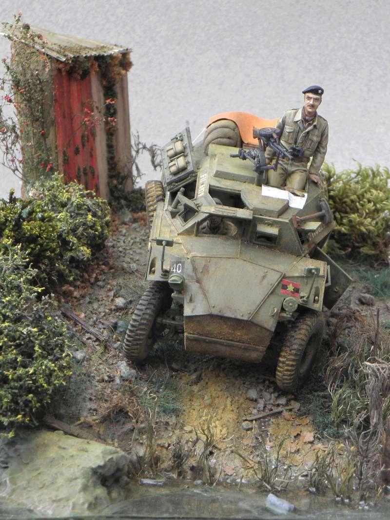 Cabane au bord de l'eau - Humber Scout Car MK.I ref 35009 Bronco Models 1/35 - Page 2 Essai_11