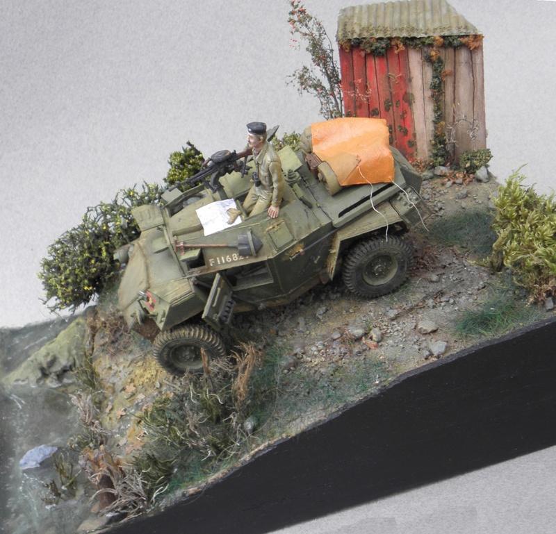 Cabane au bord de l'eau - Humber Scout Car MK.I ref 35009 Bronco Models 1/35 - Page 2 Essai_14