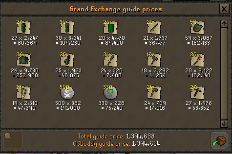 Finished opening 5k eclectic implings. :D Adaman10
