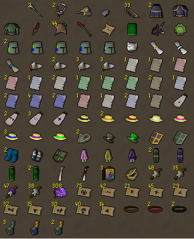 Finished opening 5k eclectic implings. :D Reward10