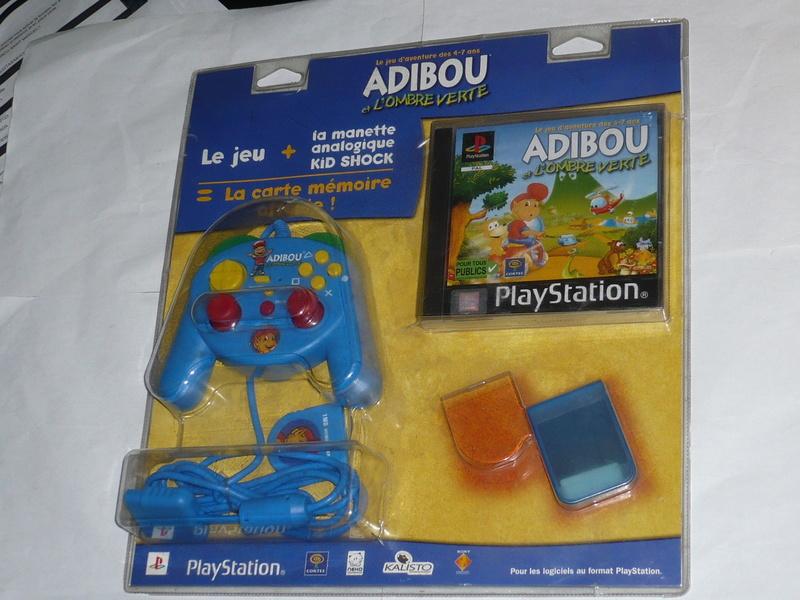 Recherche Pack Playstation 1 sous blister rigide Disney P1250210