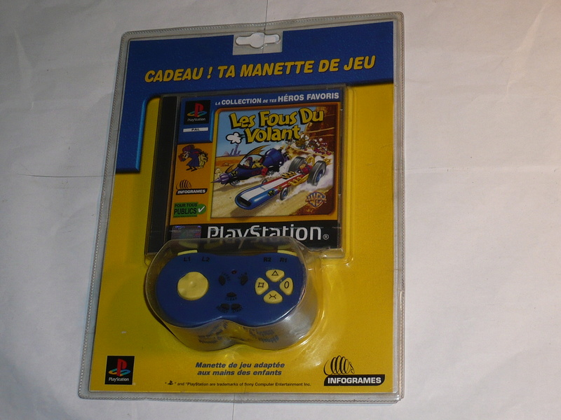 Recherche Pack Playstation 1 sous blister rigide Disney P1250211