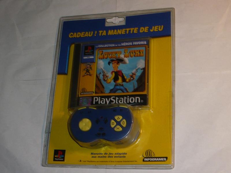 Recherche Pack Playstation 1 sous blister rigide Disney P1250212