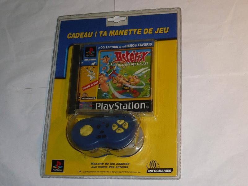 Recherche Pack Playstation 1 sous blister rigide Disney P1250213