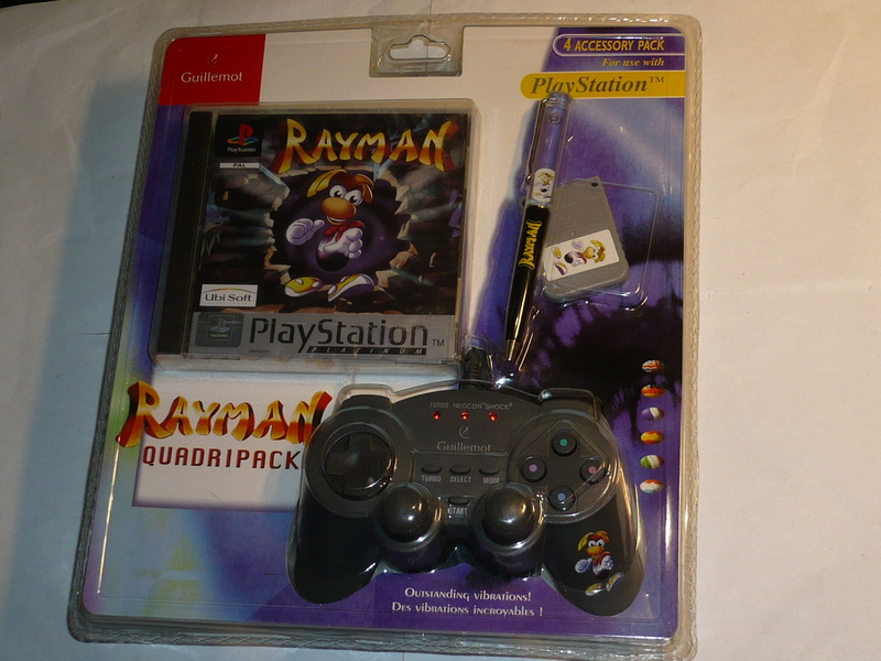 Recherche Pack Playstation 1 sous blister rigide Disney P1250310