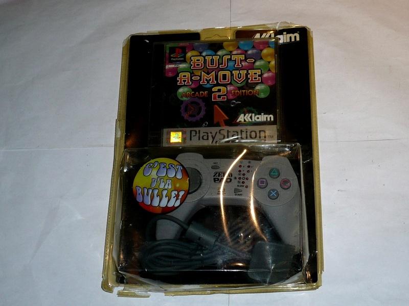 Recherche Pack Playstation 1 sous blister rigide Disney P1280310