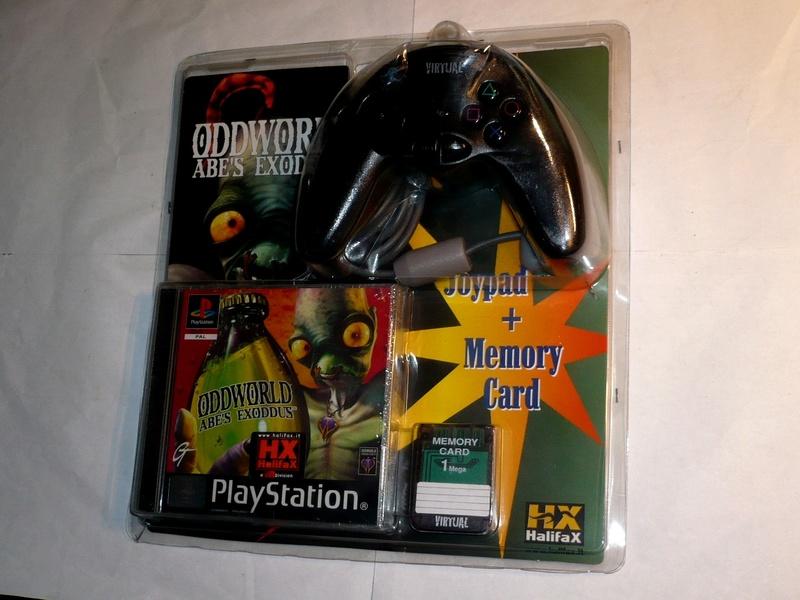 Recherche Pack Playstation 1 sous blister rigide Disney P1280810