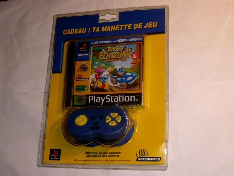 Recherche Pack Playstation 1 sous blister rigide Disney P1290010