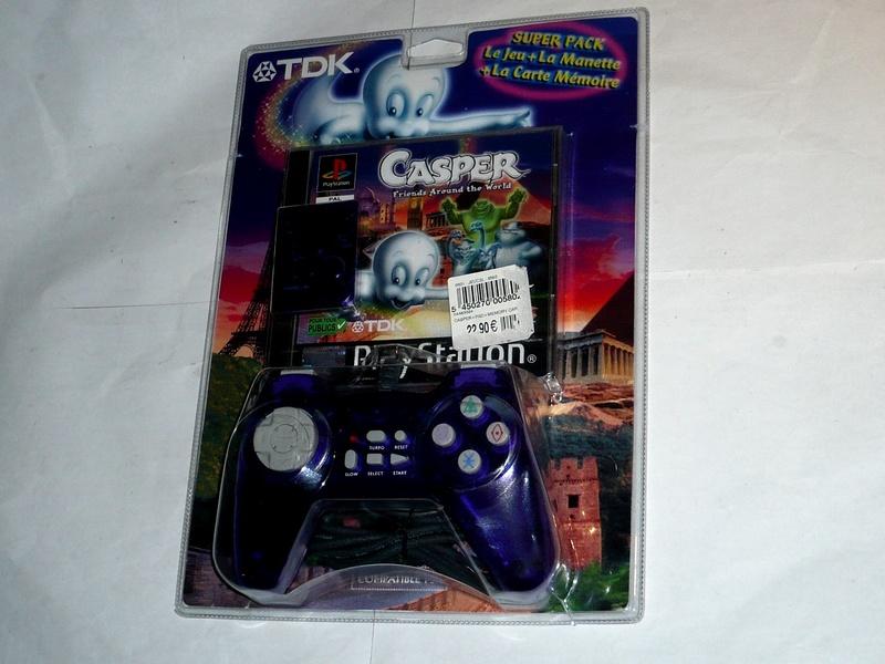 Recherche Pack Playstation 1 sous blister rigide Disney P1290910