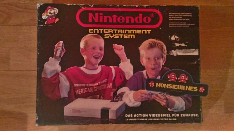 Un pack NES avec les enfants assez louche.. FRG P_201710