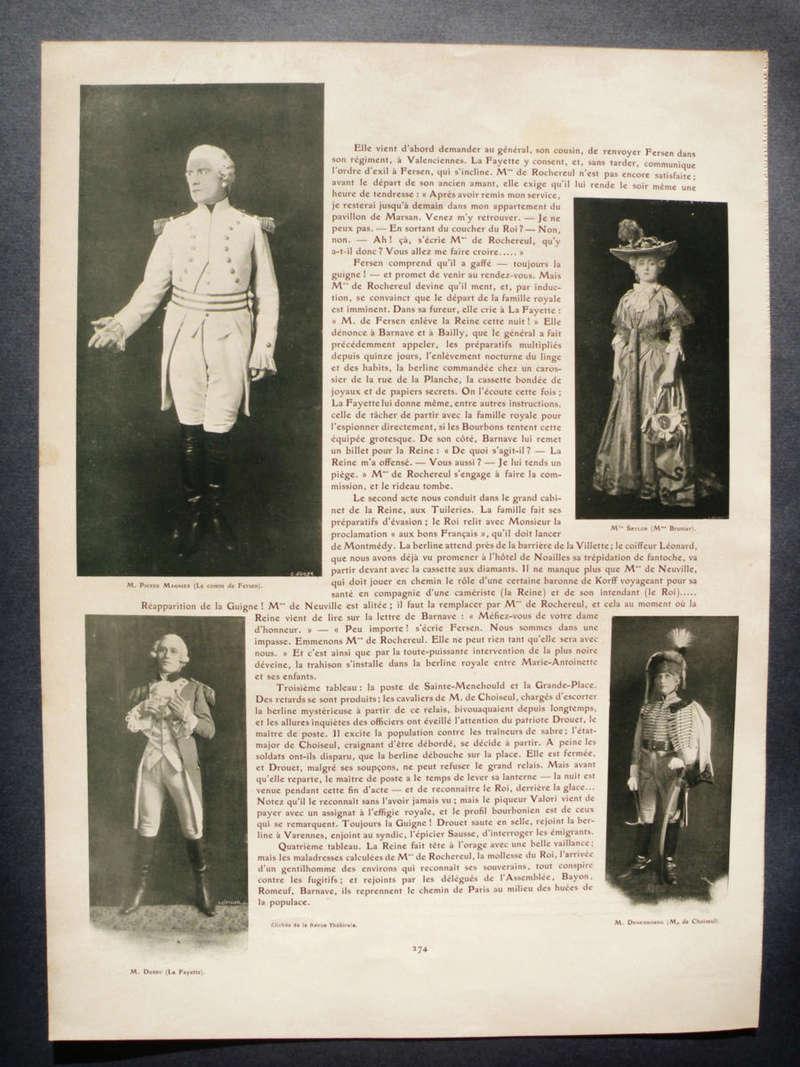 'Varennes' with Sarah Bernhardt 0110