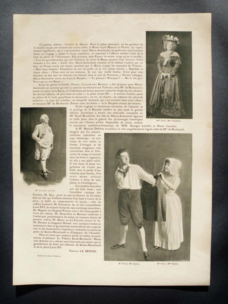 'Varennes' with Sarah Bernhardt 0210