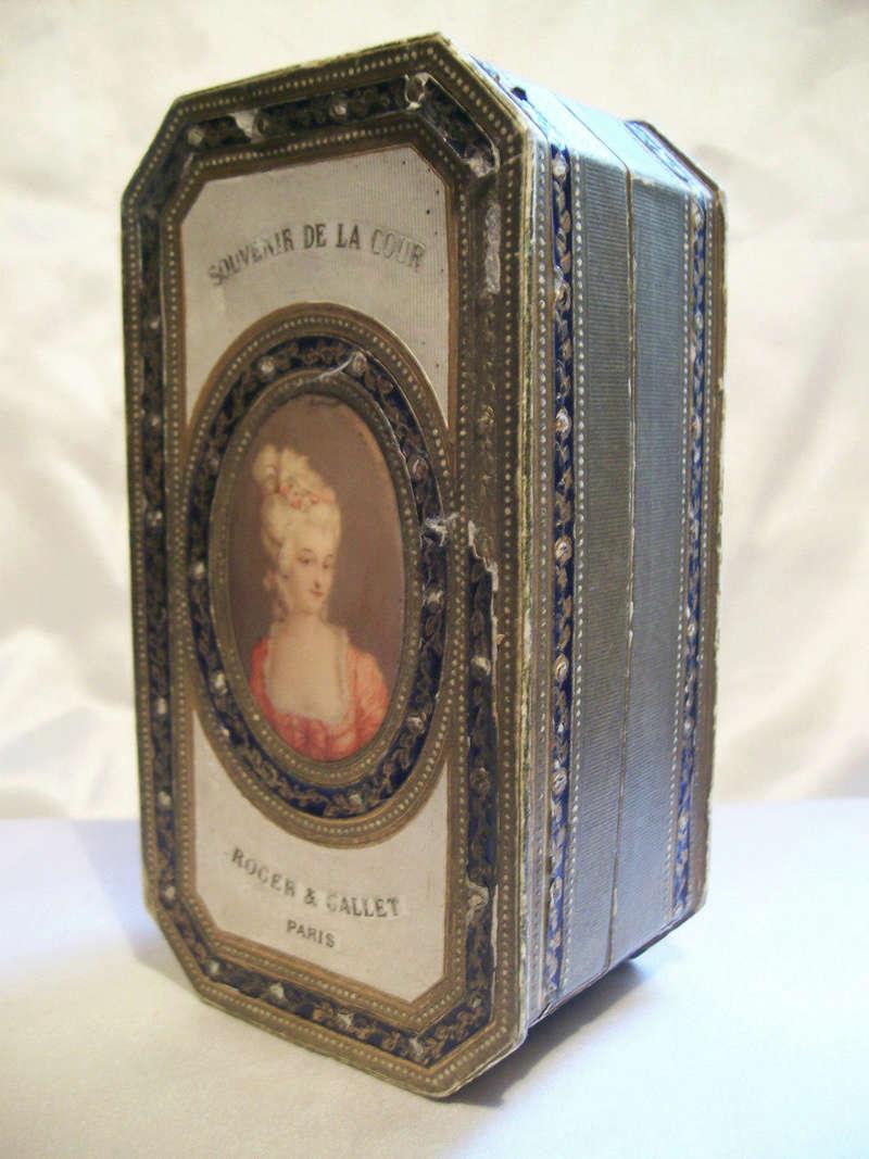 Exquisite 1920's Roger et Gallet Perfume Presentation Box, Marie Antoinette Portrait T2ec1610