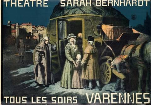 Varennes' with Sarah Bernhardt