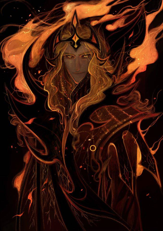 Melkor + Sauron = Morgoth   17858110