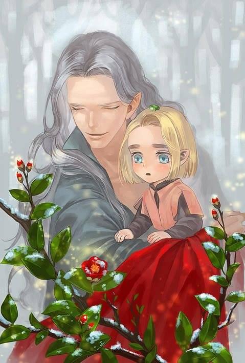 Thranduil as a child -  little Prince Thranduil 18447510