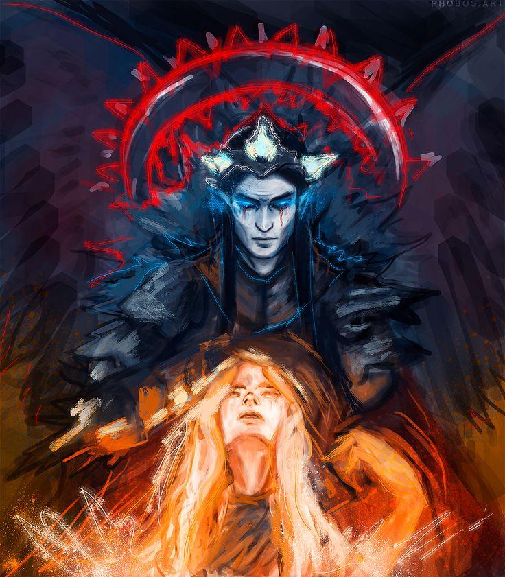 Mairon - The fire-hearted Maia & SAURON  4863c310