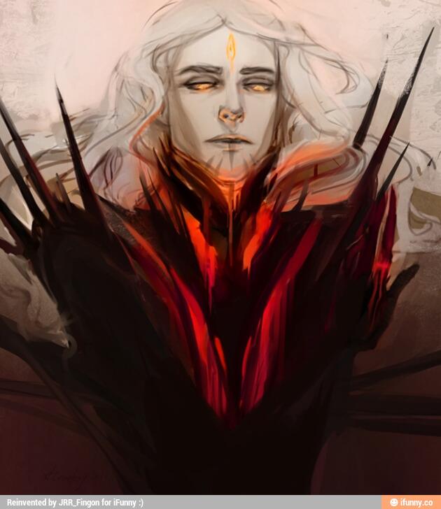 Mairon - The fire-hearted Maia & SAURON  6a533a10