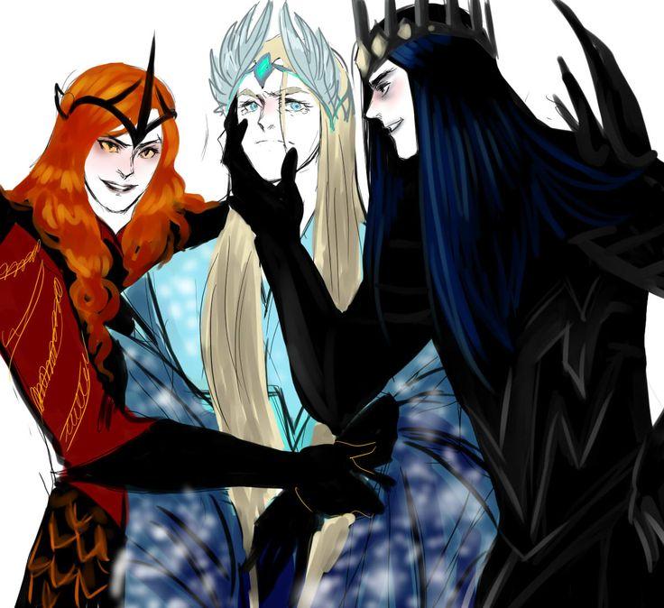 Melkor + Sauron = Morgoth   847cd310