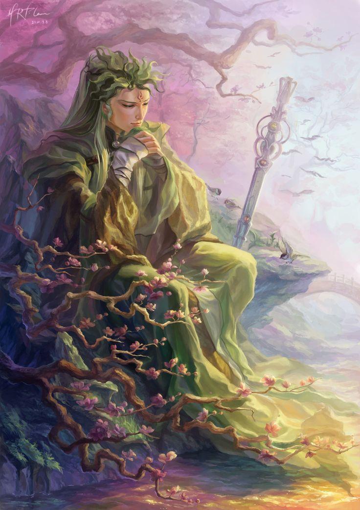 of the Nandor & Silvan elves - green woodland elves & followers of Lenwë 8e69be10