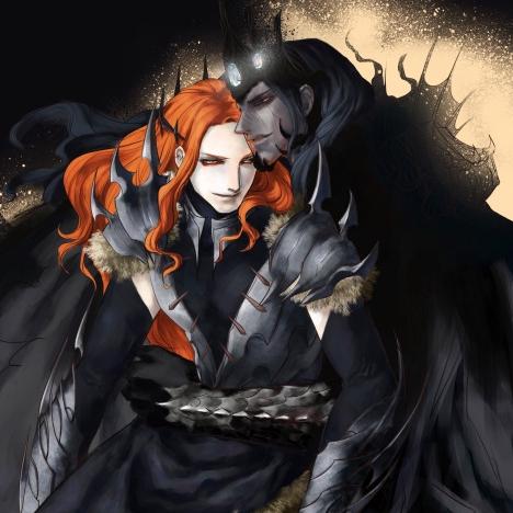Mairon - The fire-hearted Maia & SAURON  Angban10