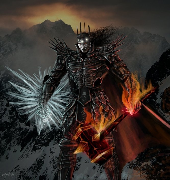 MELKOR (BlackHeart) - He who arises in Might!  B1010