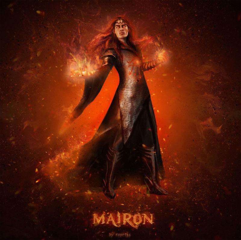 Melkor + Sauron = Morgoth   Fire_m10