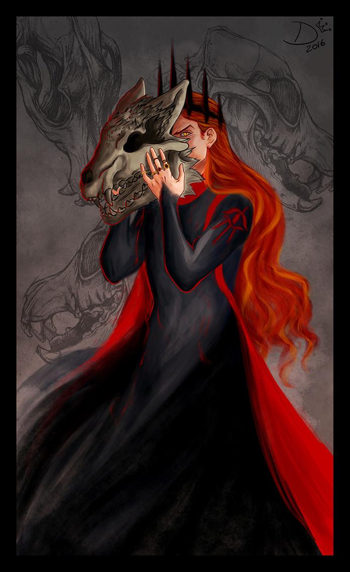 Mairon - The fire-hearted Maia & SAURON  Lord_o11
