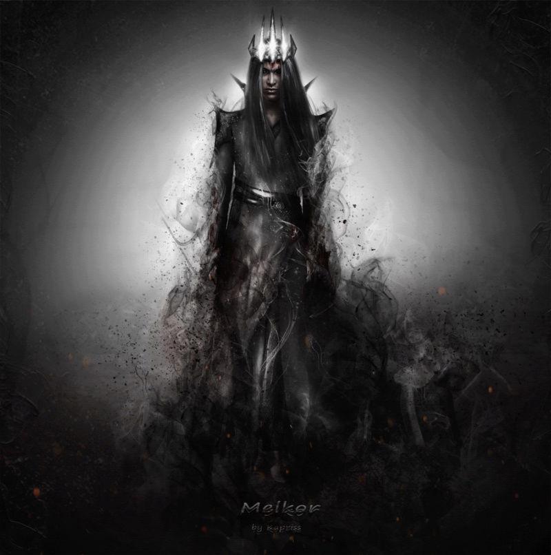 Melkor + Sauron = Morgoth   Melkor11