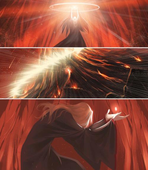Mairon - The fire-hearted Maia & SAURON  Tumblr12
