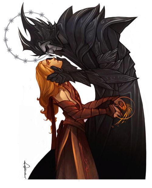 Mairon - The fire-hearted Maia & SAURON  Tumblr16