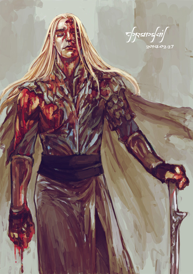 The Moment of JusticeStorm - in tribute to Thranduil BerserKing & The Primordial Tempest of War Tumblr23
