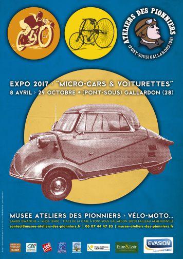 """Exposition """"Voiturettes"""" à Pont-sous-Gallardon du 8/04 au 29/10 Aff_mu10"""