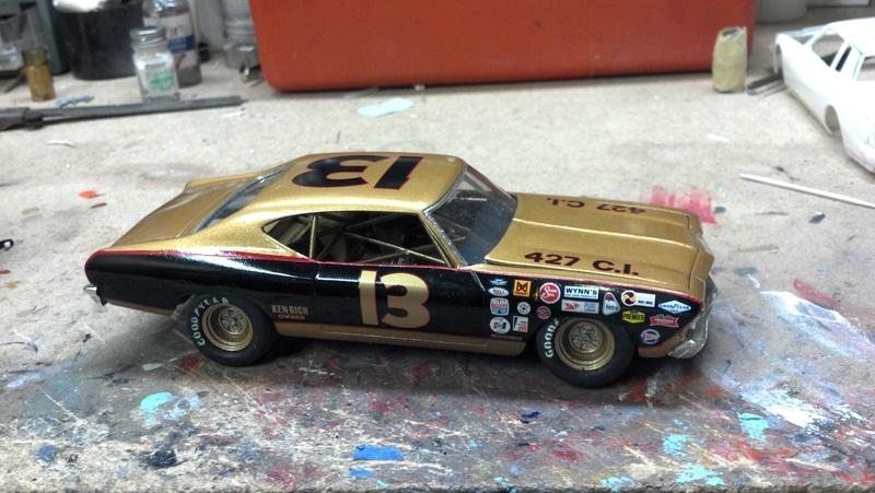 1969 Chevelle Smokey Yunick fantasy stock car  2017-012