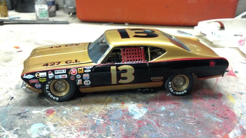 1969 Chevelle Smokey Yunick fantasy stock car  2017-014