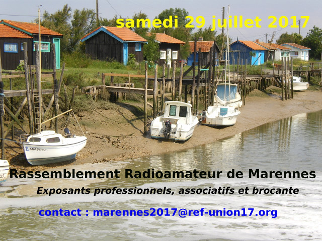 Brocante - Salon Radioamateur de Marennes - REF 17 (29/07/2017) Annonc10
