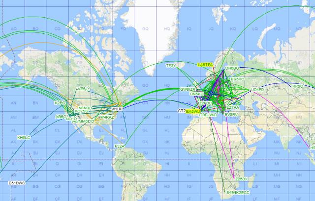 Propagation DX et activité solaire en temps réel Carte_13