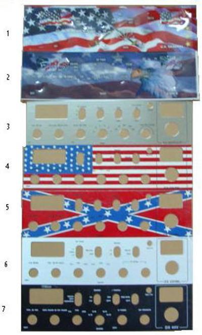 Plaque tuning de façade de postes mobile Facepl10