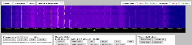 WebSDR 11m + bande déca. (SWL) Websdr11