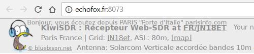 WebSDR 11m + bande déca. (SWL) Websdr16