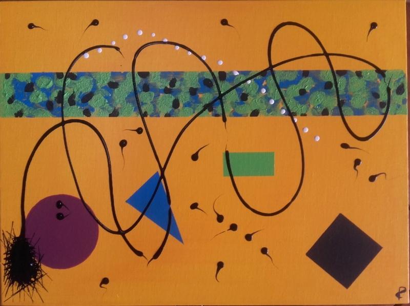 Peinture  abstraite 810